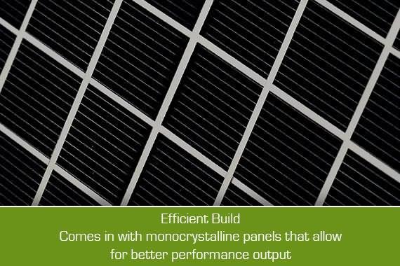 Outbaxcamping 2nd Scenario 10w Monocrystalline Rooftop Solar