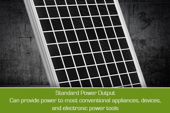 Outbaxcamping 5th Scenario 10w Monocrystalline Rooftop Solar
