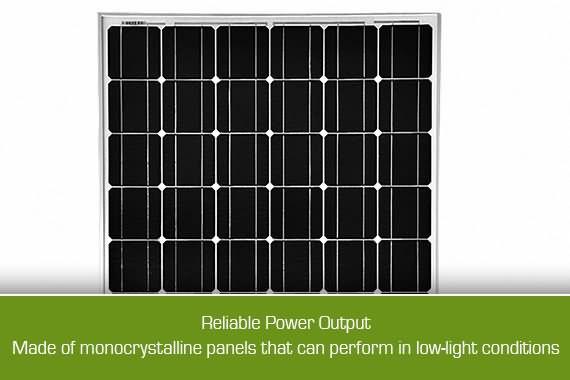 Outbaxcamping 10th Scenario 200w Monocrystalline Solar Panel