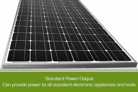 Outbaxcamping 3rd Scenario 200w Monocrystalline Solar Panel