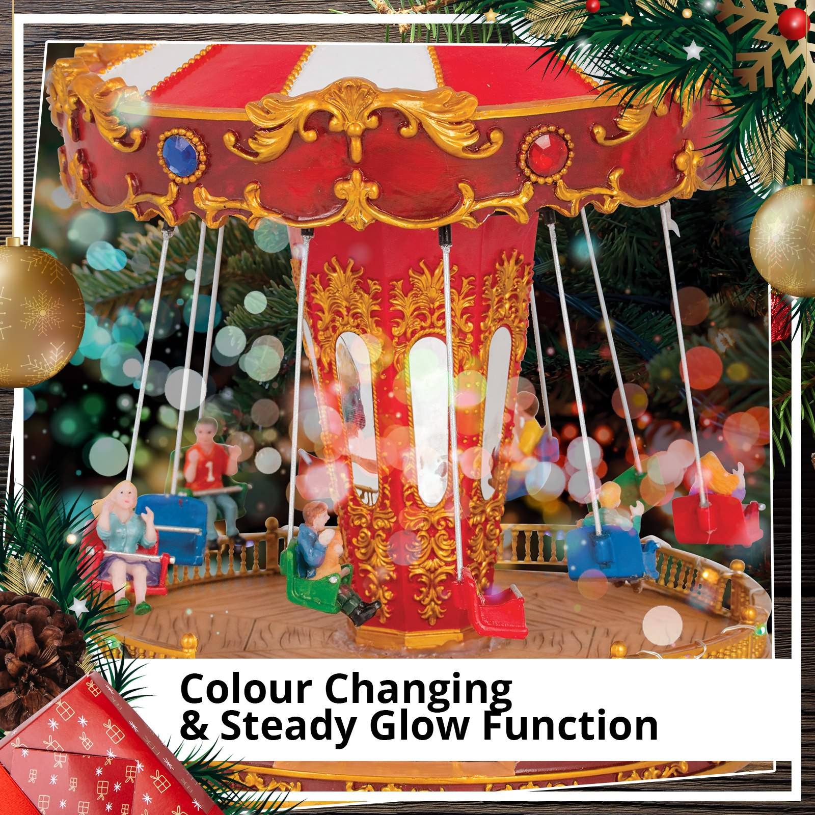 Christmas-Gift-Music-LED-Lights-Flying-Swing-Chairs-Home-Play-Toys-Decoration