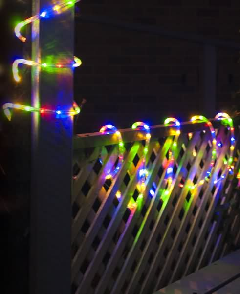 new led solar christmas lights multi colour holiday 10m rope light