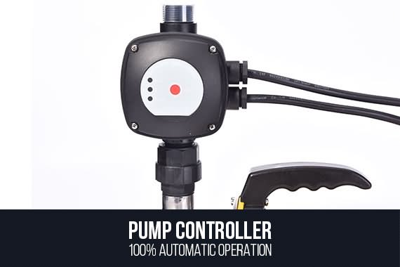Outbaxcamping 5th Scenario Powered pump rate of