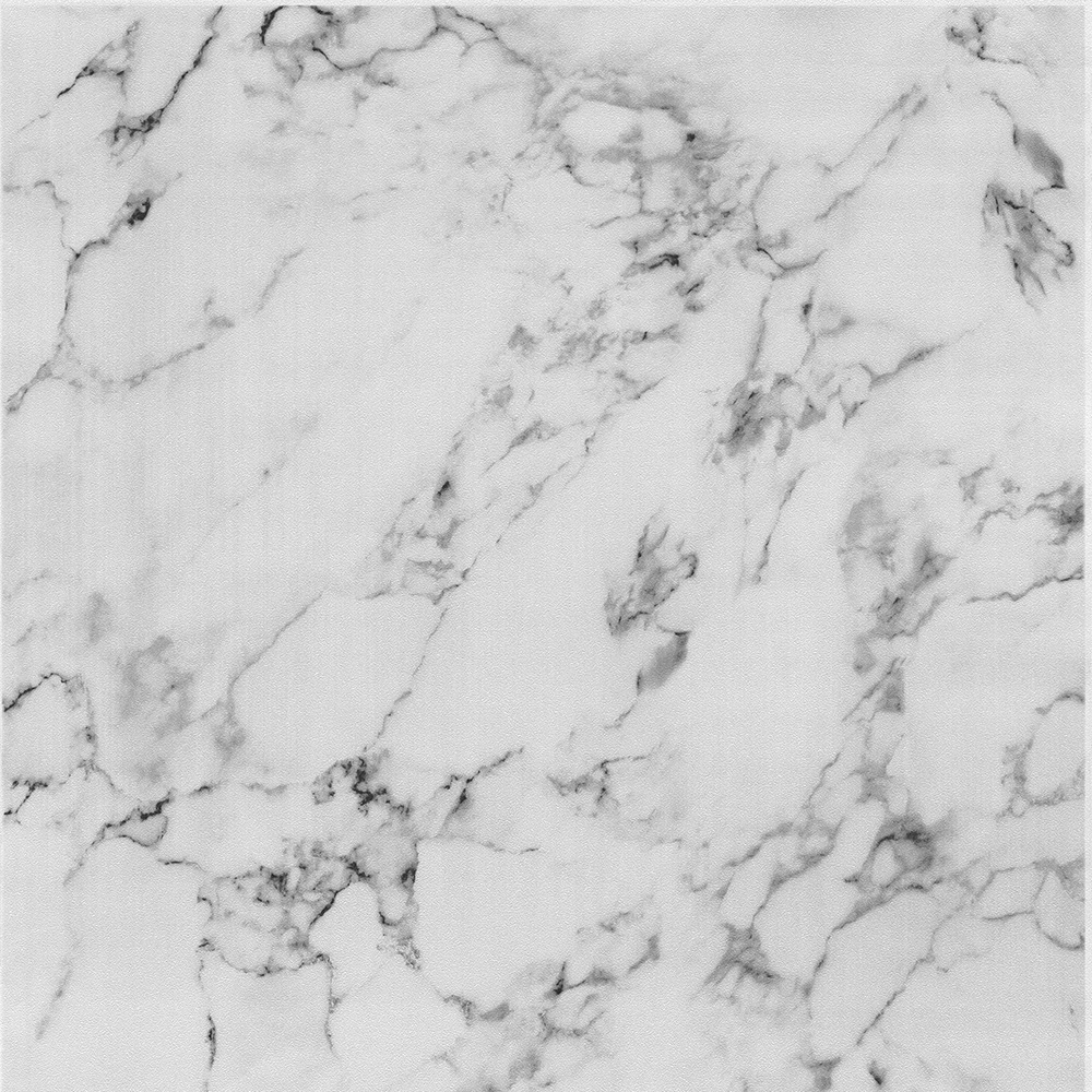 Marble Tile Effect Wallpaper Granite Luxury Modern Paste The Wall Grey Black P+S