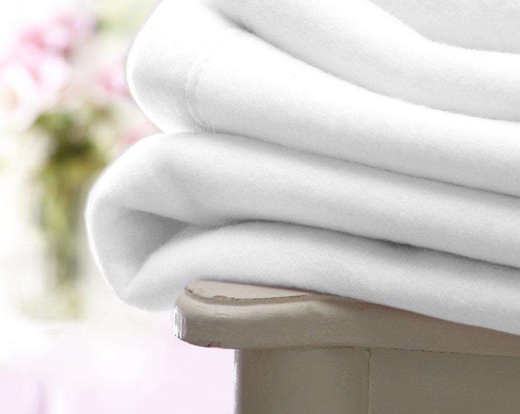 Lollipop Lane Pram Crib Starter Set Cellular Fleece Flannelette Sheet Blanket