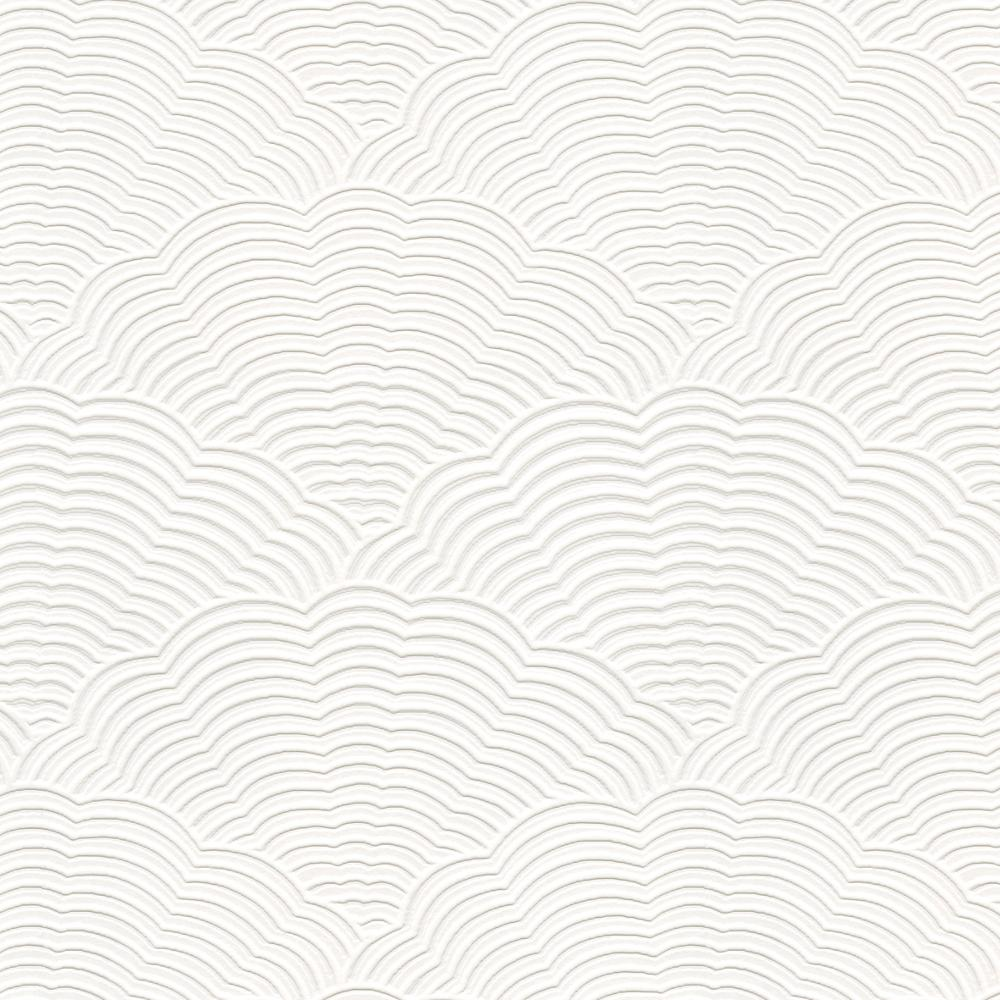 White blown vinyl wallpaper embossed textured paintable for Embossed wallpaper