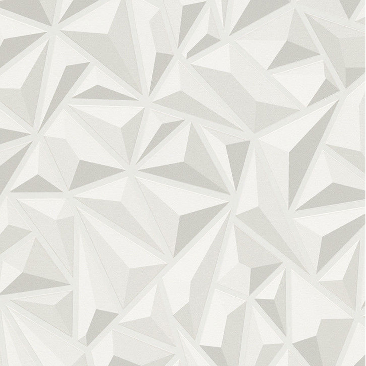 3d effect white grey geometric wallpaper textured luxury for Modern textured wallpaper