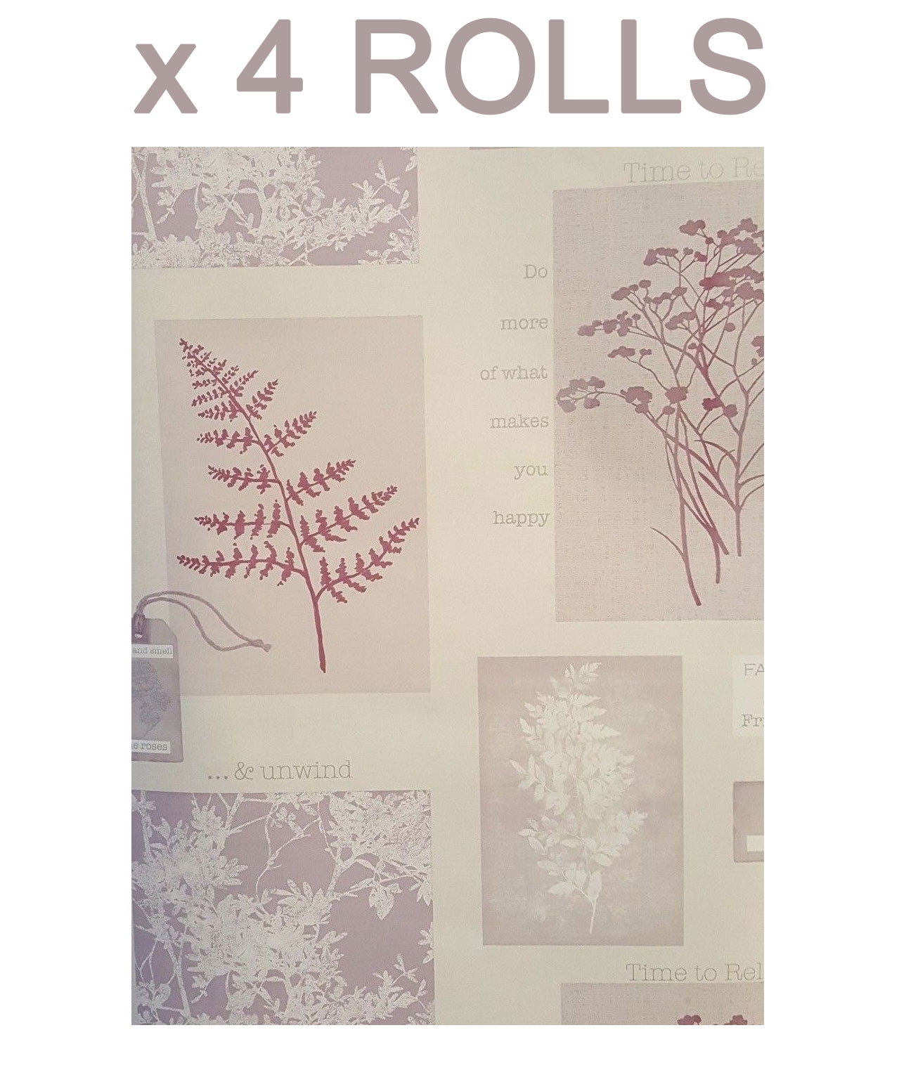Plum Quotes Wallpaper Trees Flowers Collage Phrases Heavyweight 4