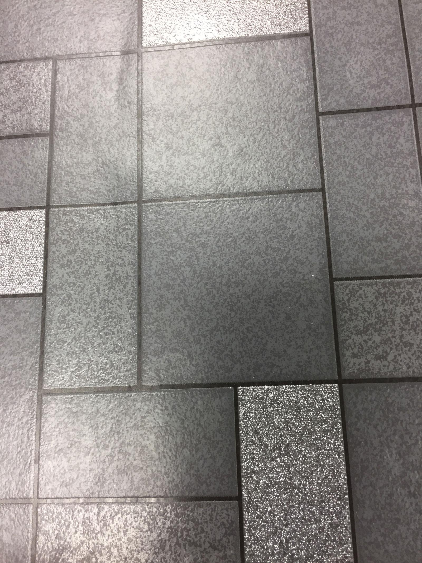 Glitter Tile Wallpaper Sparkle Washable Vinyl Kitchen Bathroom Black Silver