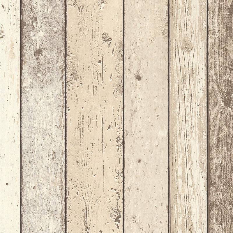 Wood Effect Wallpaper Distressed Wooden Grain Surf Beach Hut Vinyl