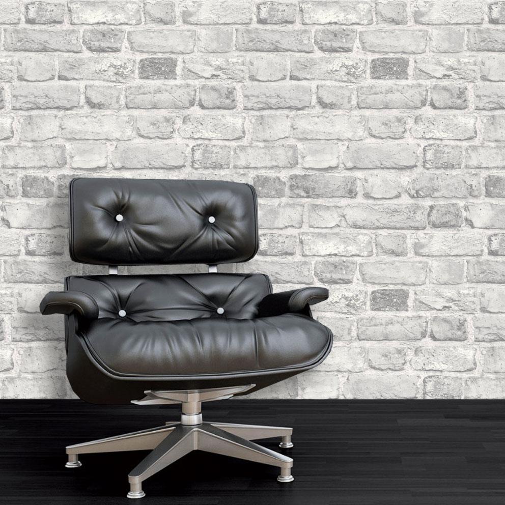 3D-Brick-Effect-Wallpaper-Slate-Stone-Realistic-Textured-Vinyl-Vintage-Grandeco thumbnail 4