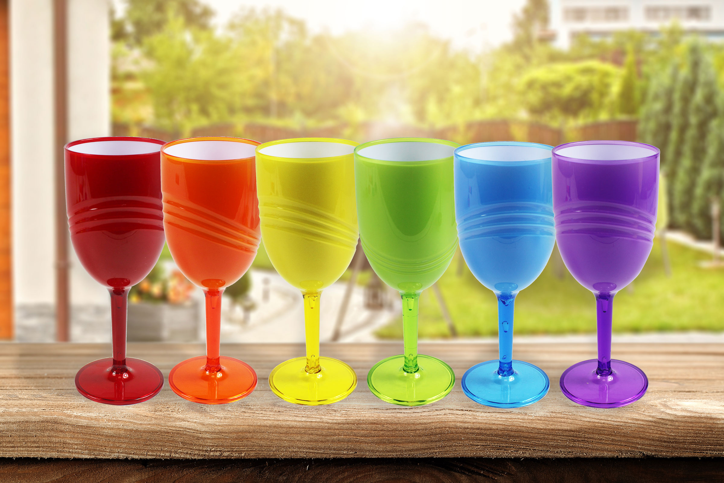 Wine Goblets Pack Of 6 High Quality Glasses Party