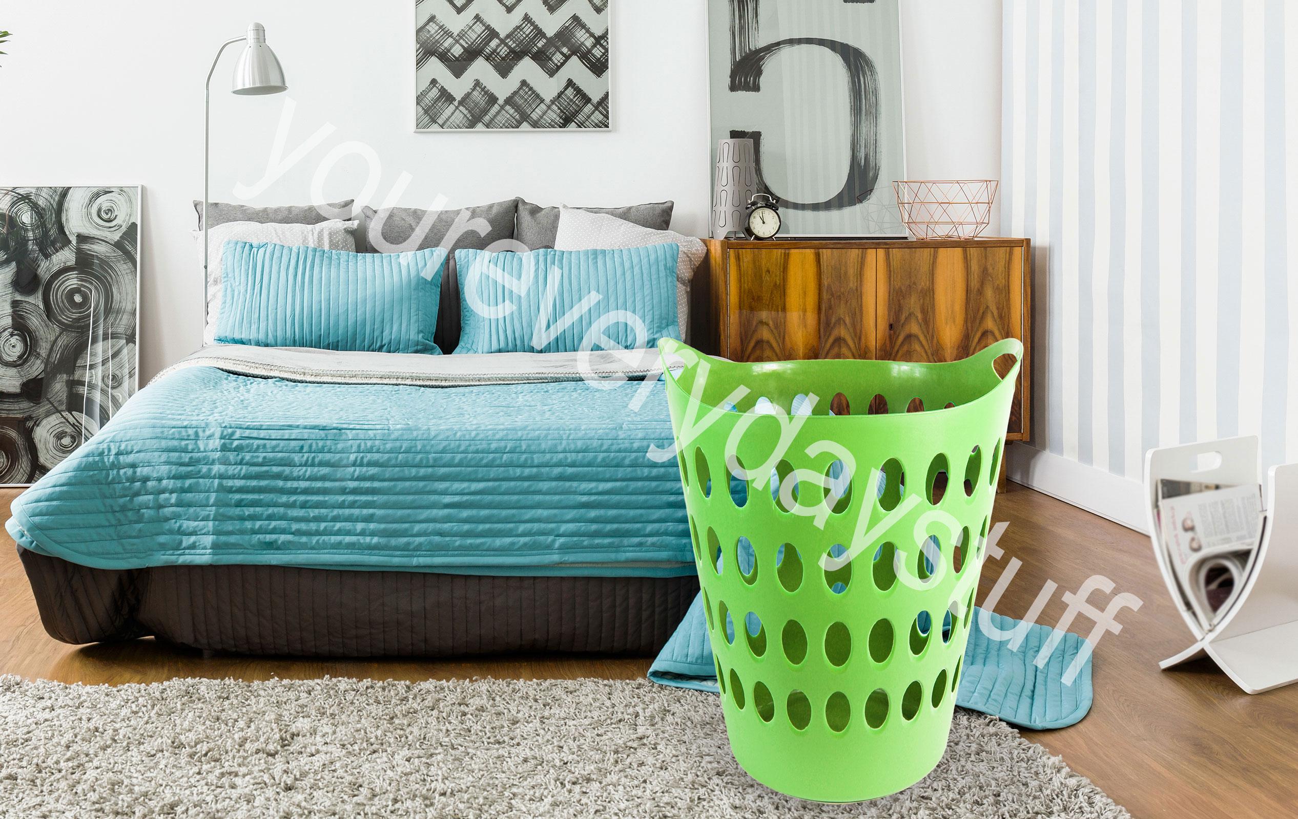 Laundry Basket Home Clothes Washing Flexi Large Flexible