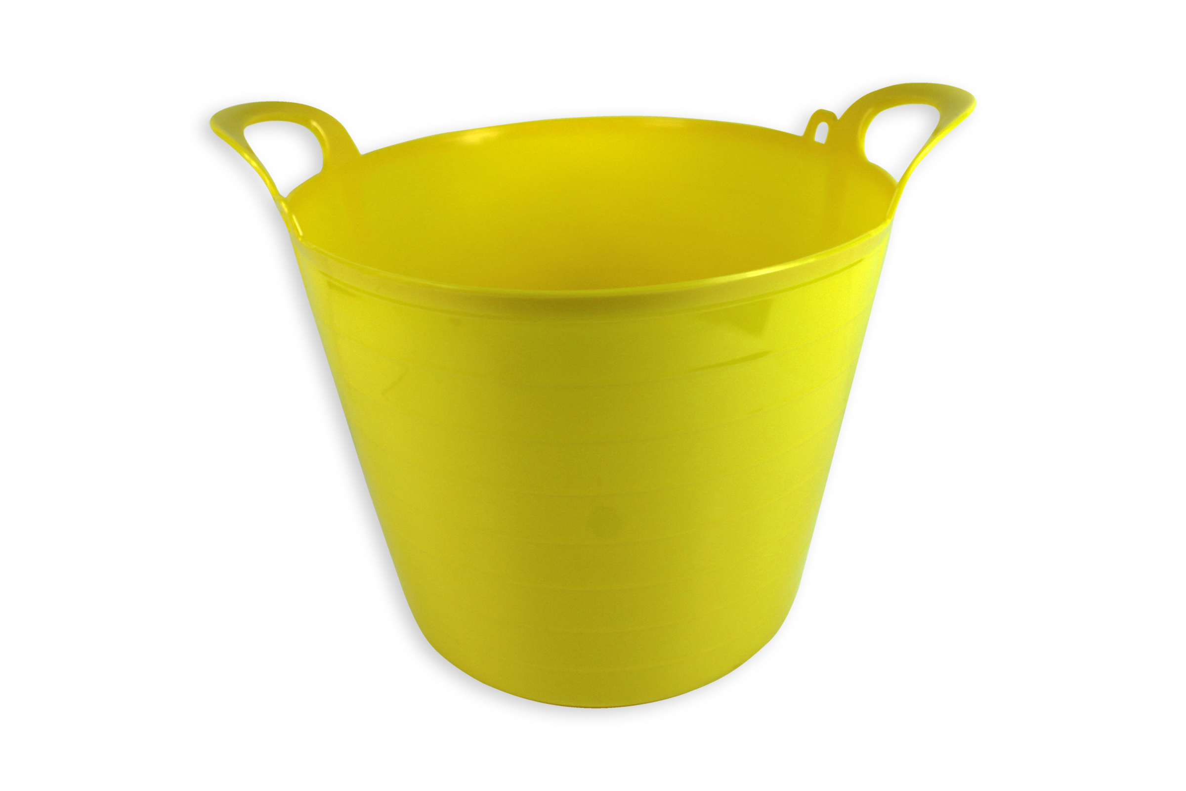 a bin decorative painted storage metal products galvanized yellow southern bucket sunscreen tub side
