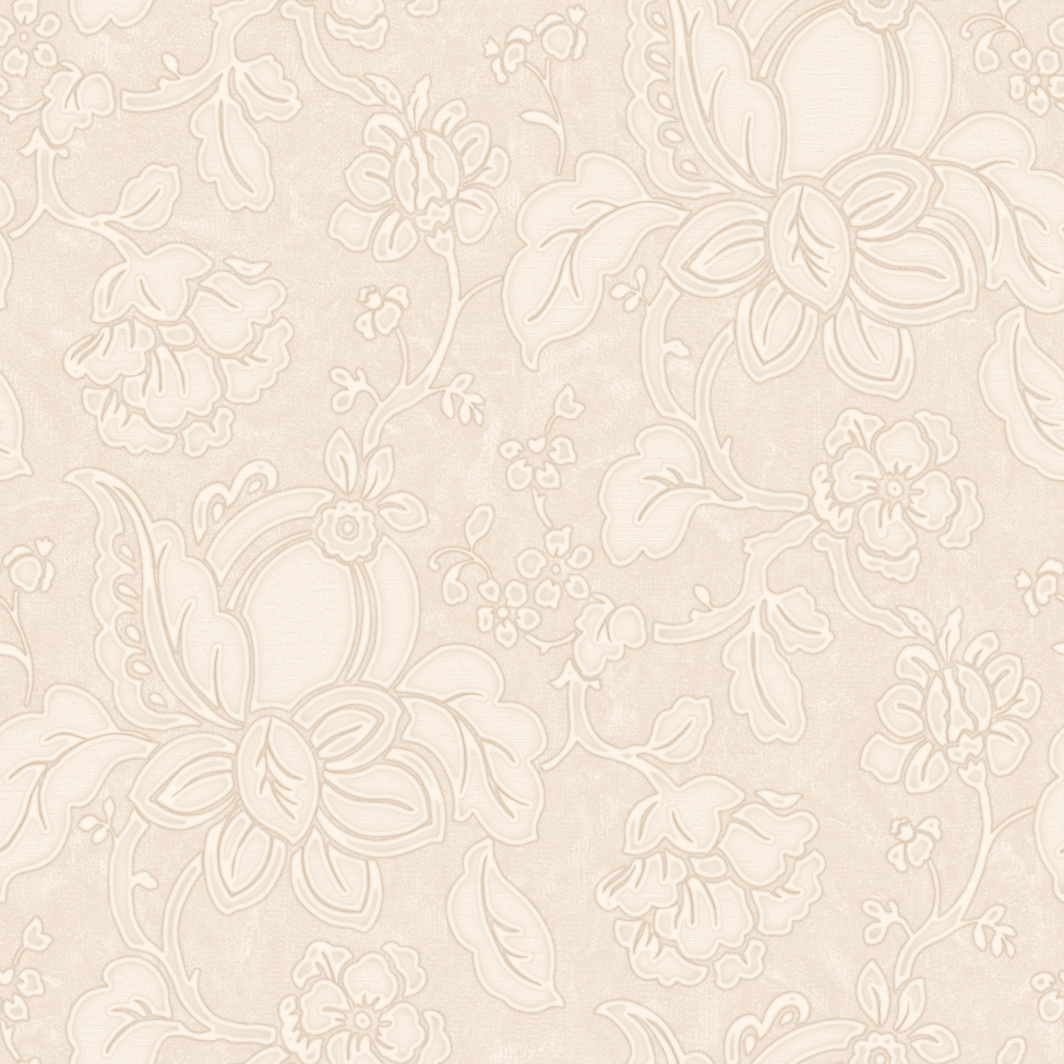 Flower Wallpaper Floral Itallian Vinyl Paisley Shiny Textured Embossed Gold