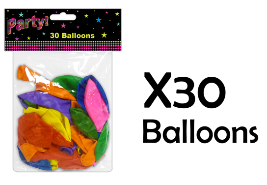 Balloons-30-60-90-120-Parties-Decoration-Birthdays-Weddings-Party-Accessoires