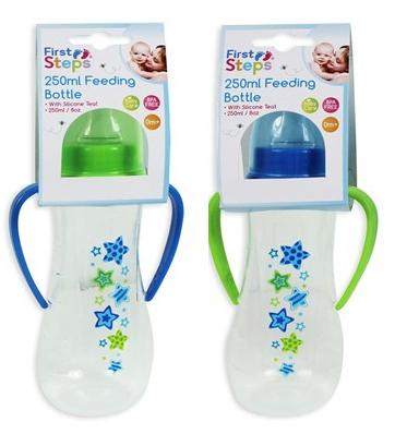 Baby-Bottles-250ml-Feeding-Silicone-Teat-BPA-Free-0m