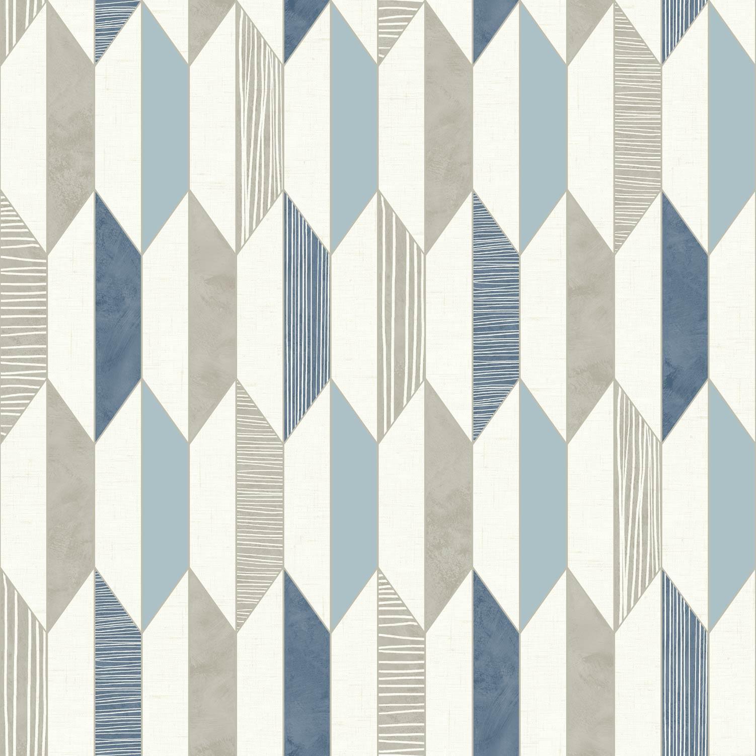 Papier Peint 3d Formes Géométriques : D geometric wallpaper retro vintage vinyl diamonds lines