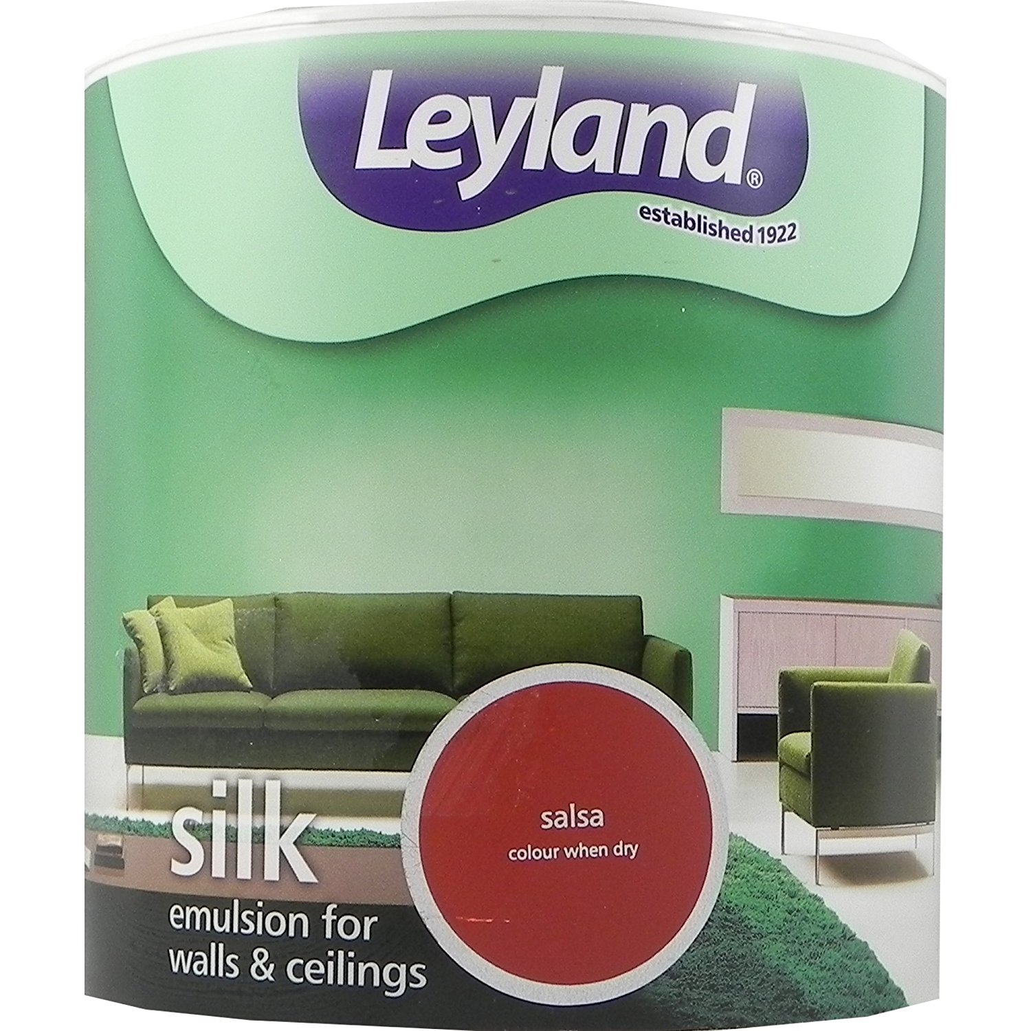 Leyland Paint Silk Emulsion Water Based Vinyl Interior