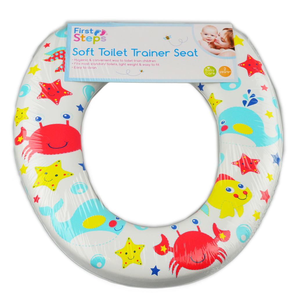 Padded toilet seat Children Kids Infants Toddler Soft Trainer 2 years