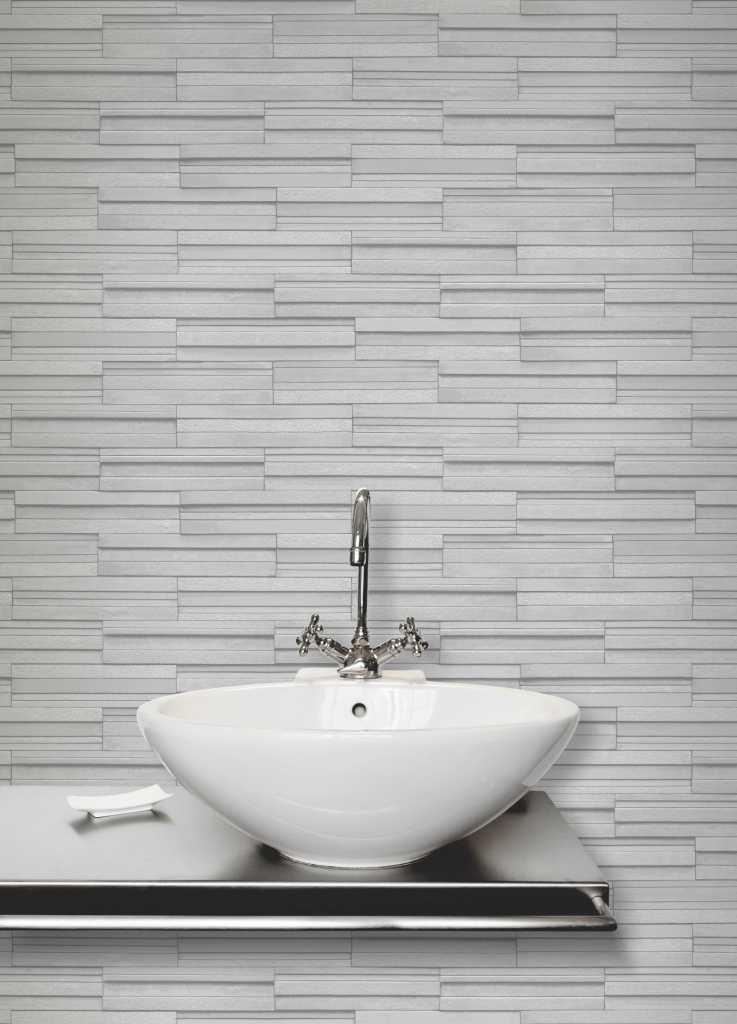 bathroom wallpaper tile effect ceramica slate tile brick effect wallpaper in 4 colours by 17175