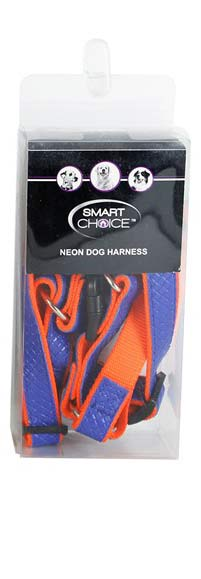 High-Vis-Neon-Reflective-Step-In-Dog-Harness-in-Medium-Adjustable-Straps