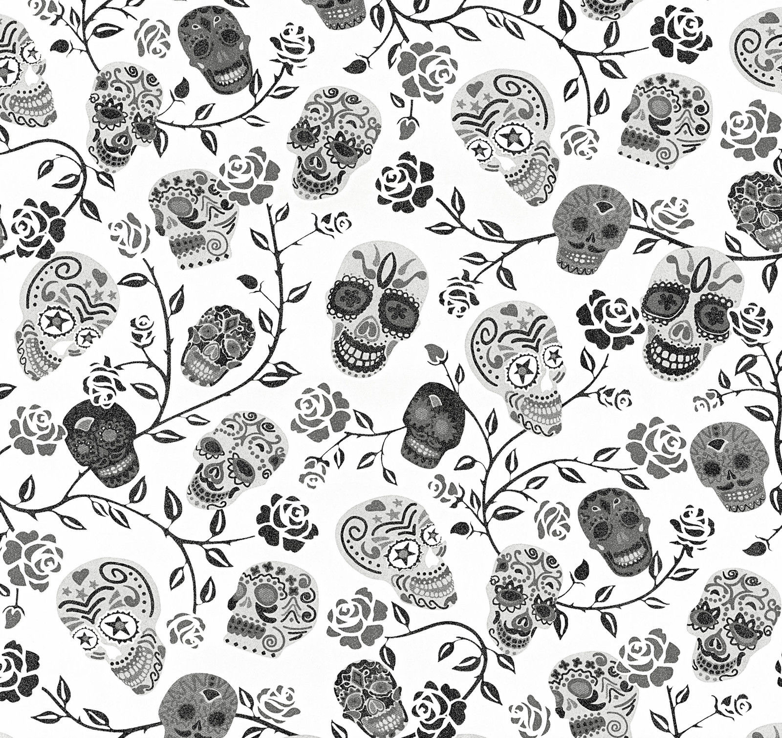 Skulls wallpaper floral flowers stars glitter gothic white silver skulls wallpaper floral flowers stars glitter gothic white silver black grey ps mightylinksfo