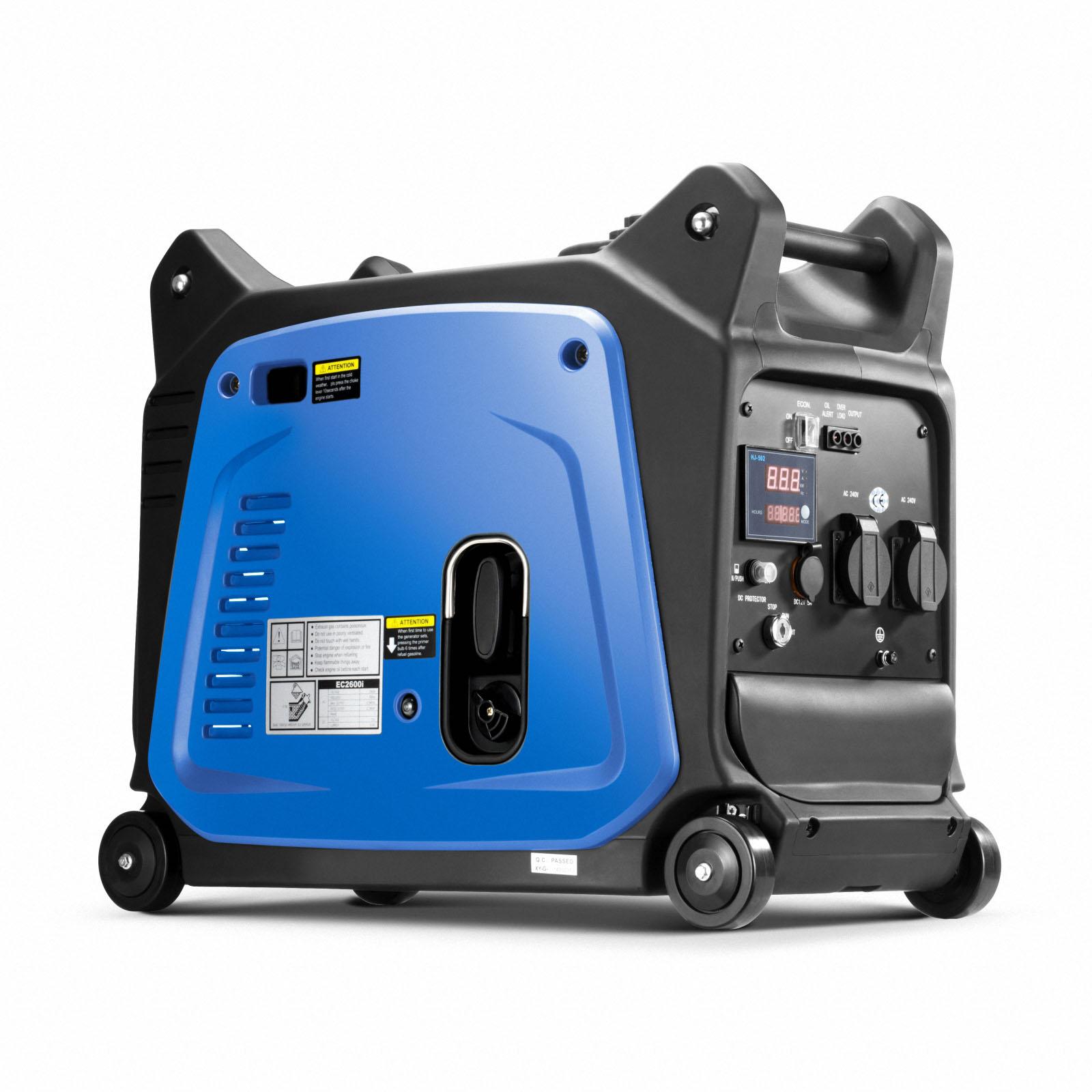 GenTrax Inverter Generator 3.5KW Max 12v Remote Start Portable Petrol Camping 2
