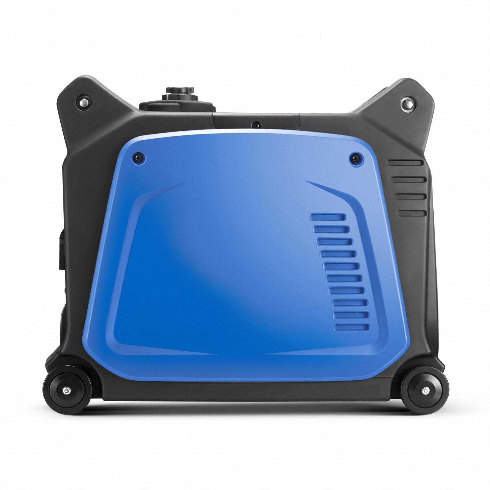 GenTrax Inverter Generator 3.5KW Max 12v Remote Start Portable Petrol Camping 4