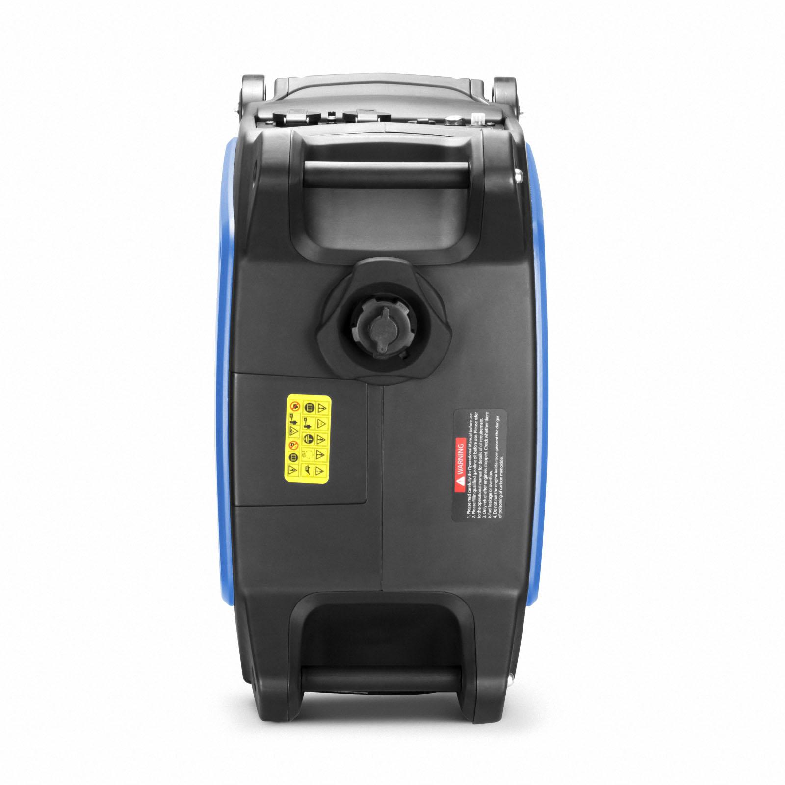 GenTrax Inverter Generator 3.5KW Max 12v Remote Start Portable Petrol Camping 6