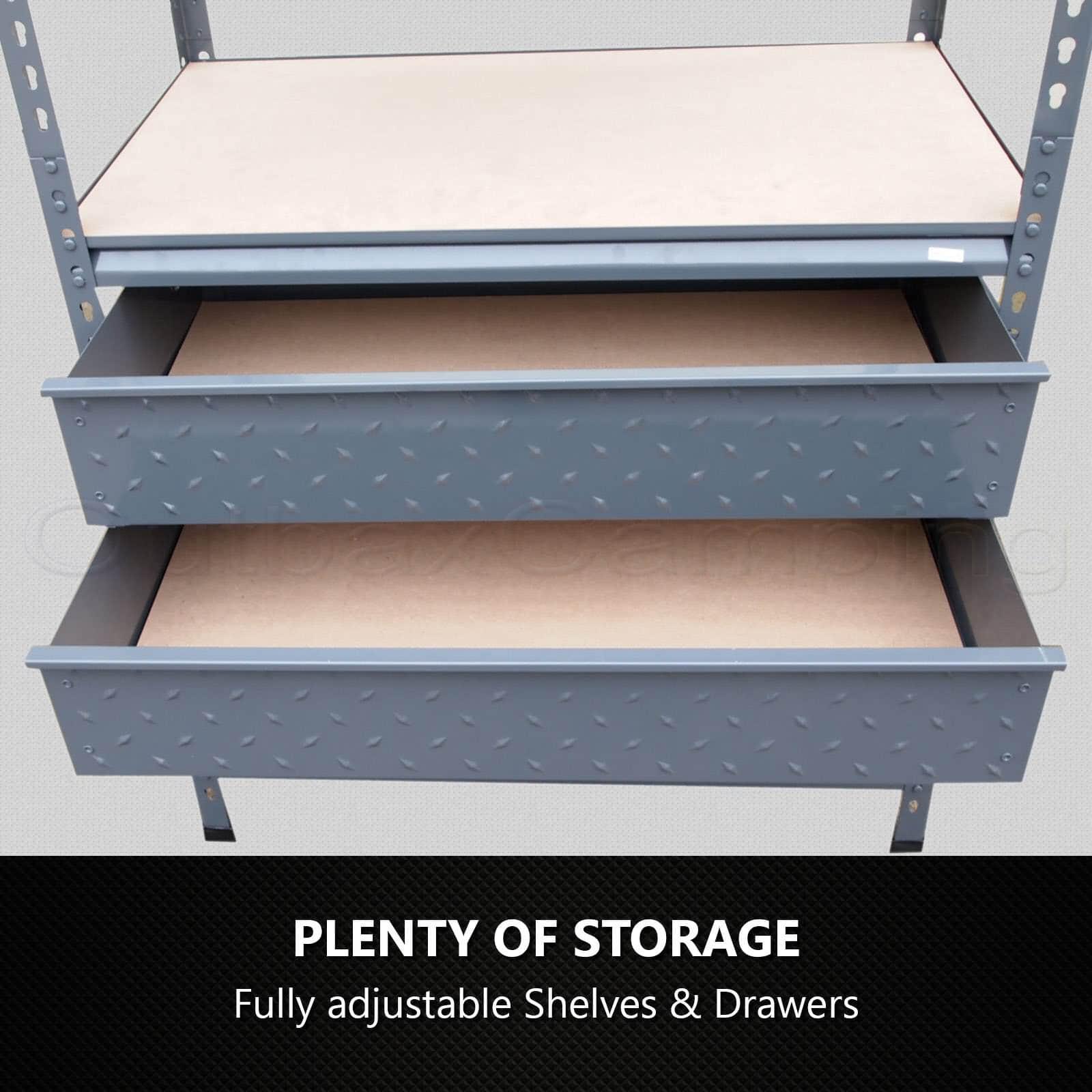 1 9m X 0 Garage Shelving Adjustable