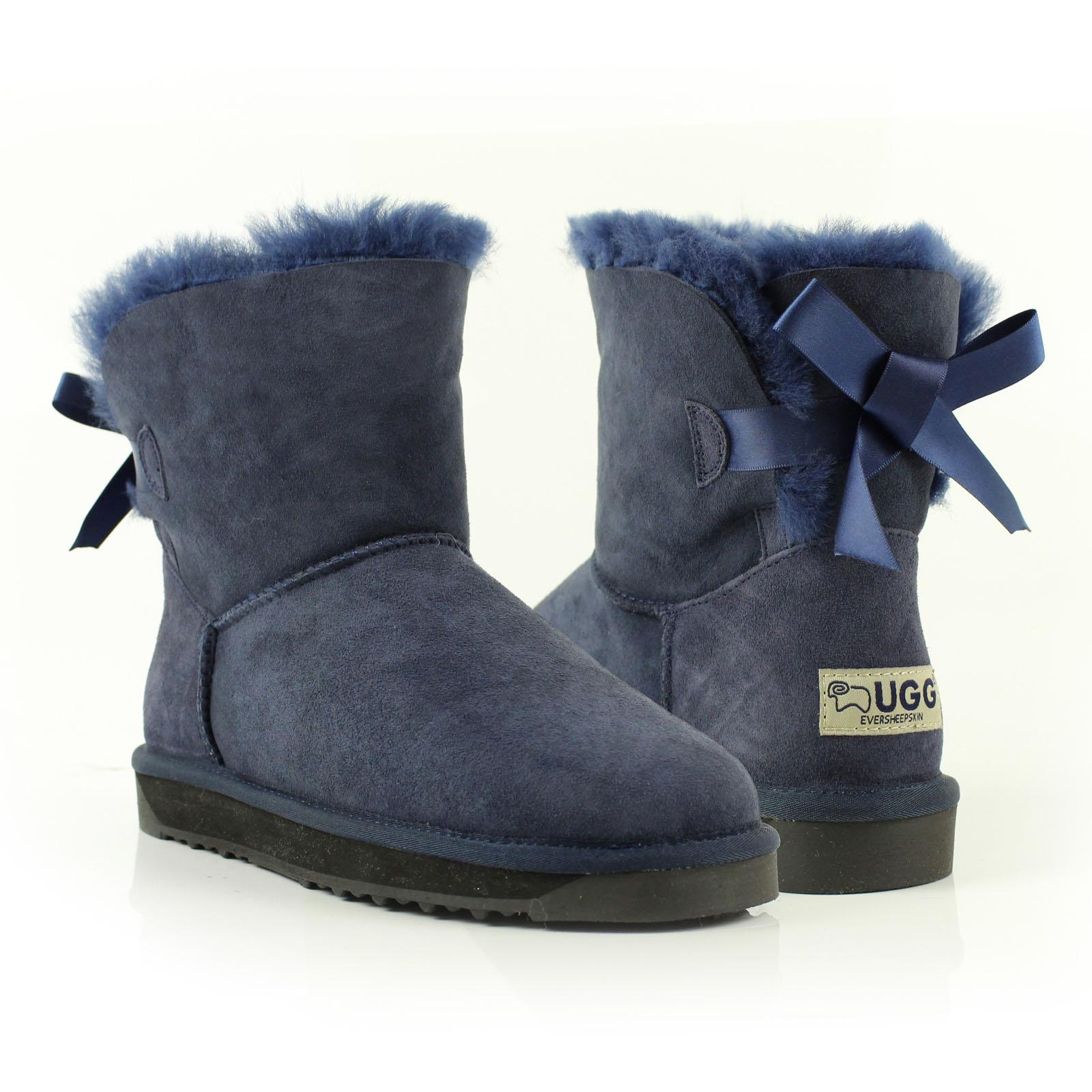 UGG-BOOTS-NEW-100-Australian-Sheepskin-Kids-Mini-