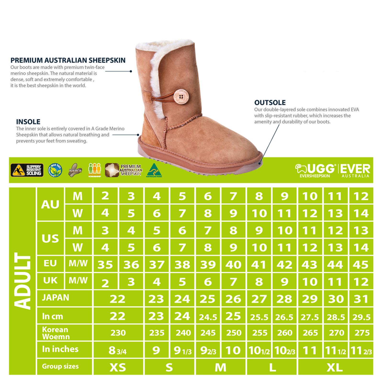 d603edb6e65 Details about Ugg Boots Baby Infant Booties Kids Australian Sheepskin No  Sole Pink Chestnut