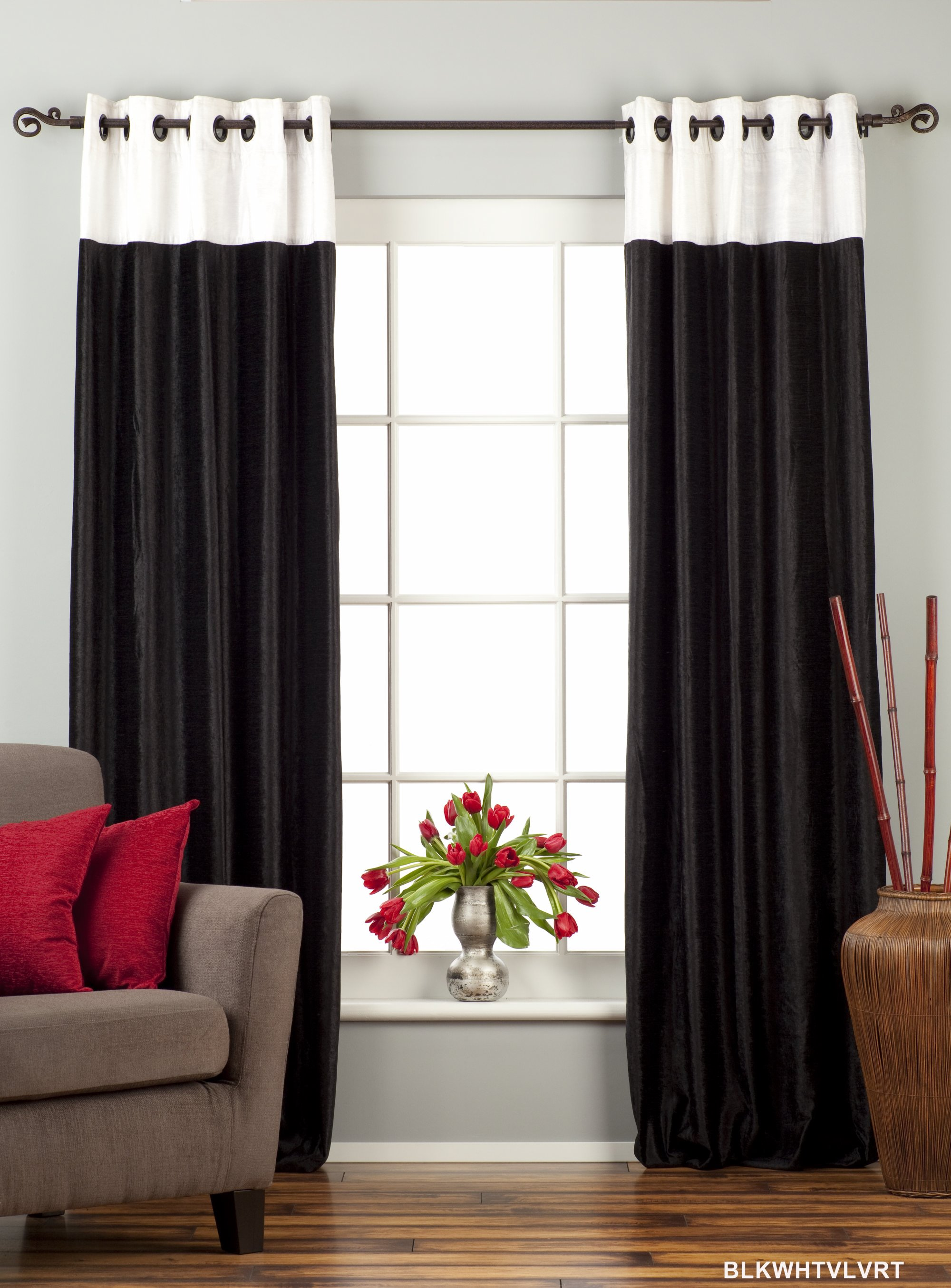 curtains curtain velvet panel designer drapery curtins drapes panels piece signature grommet dark ring modern google biz