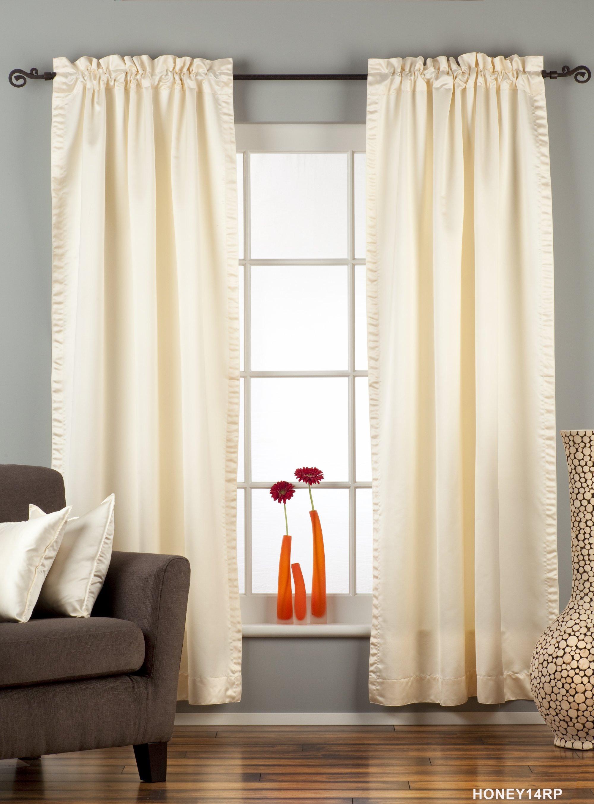 Blackout   Curtain   Cream   Piece   Rod
