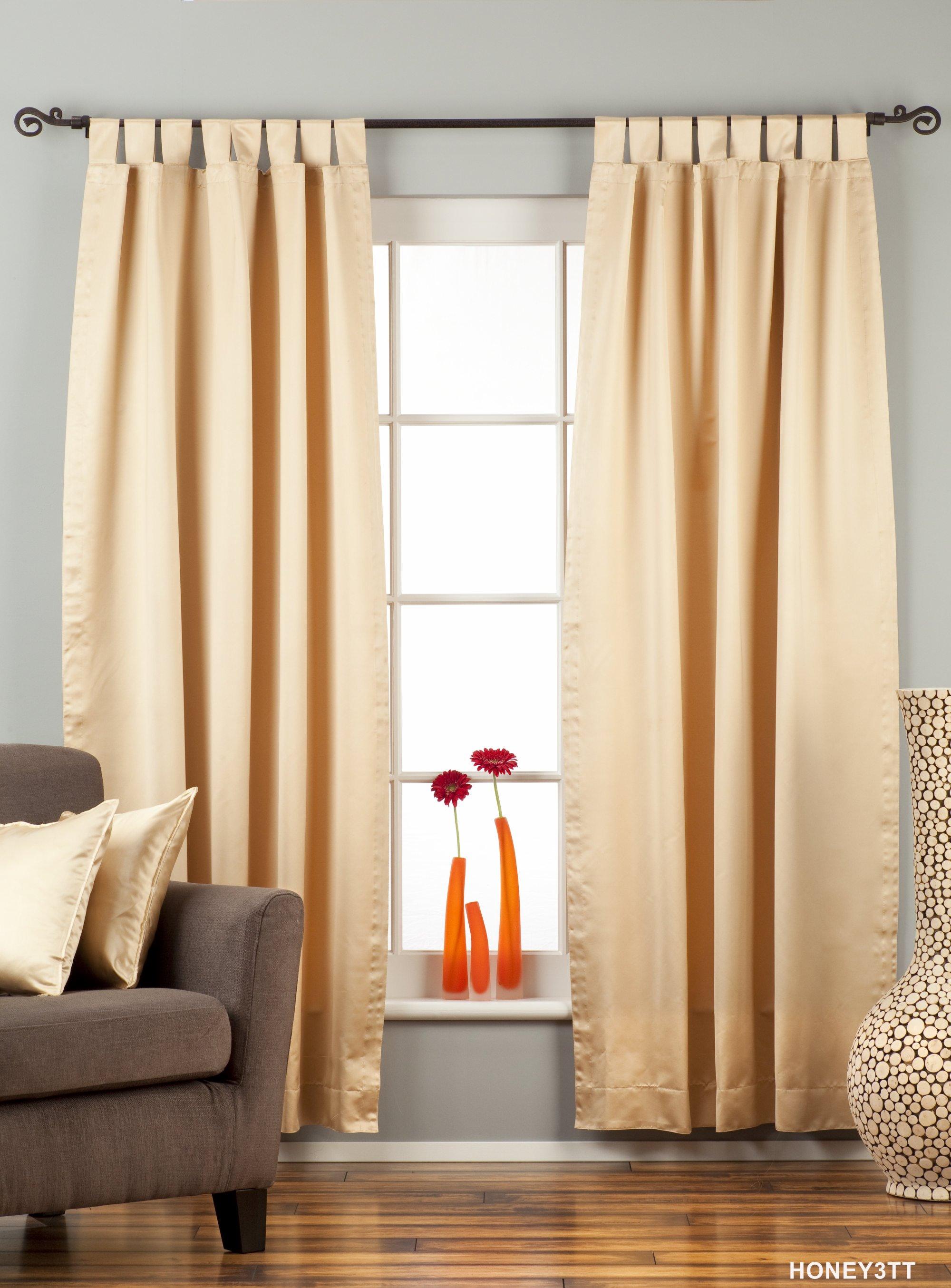 Blackout   Curtain   Golden   Piece   Top