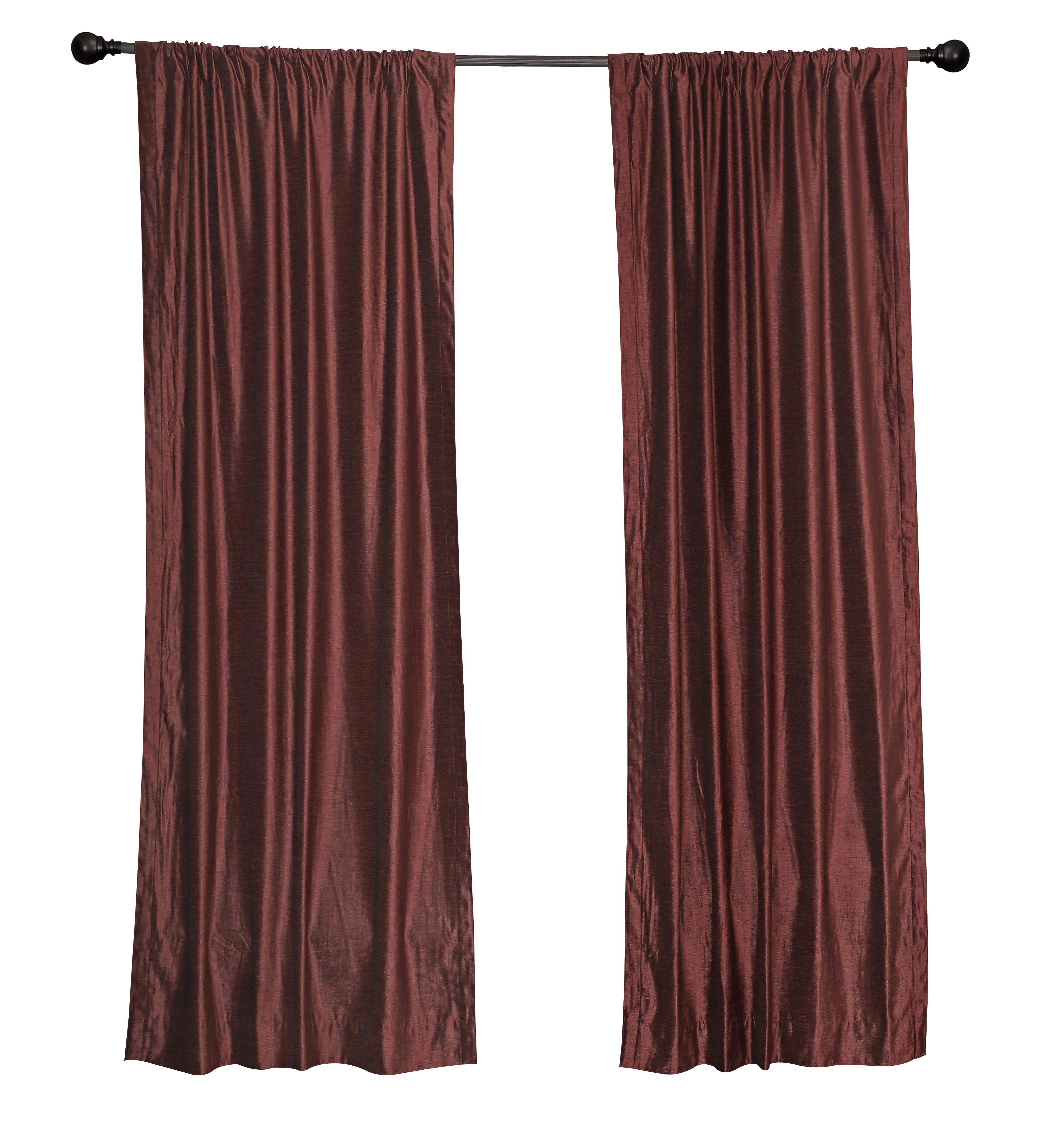 Thermal   Curtain   Velvet   Wine   Rod