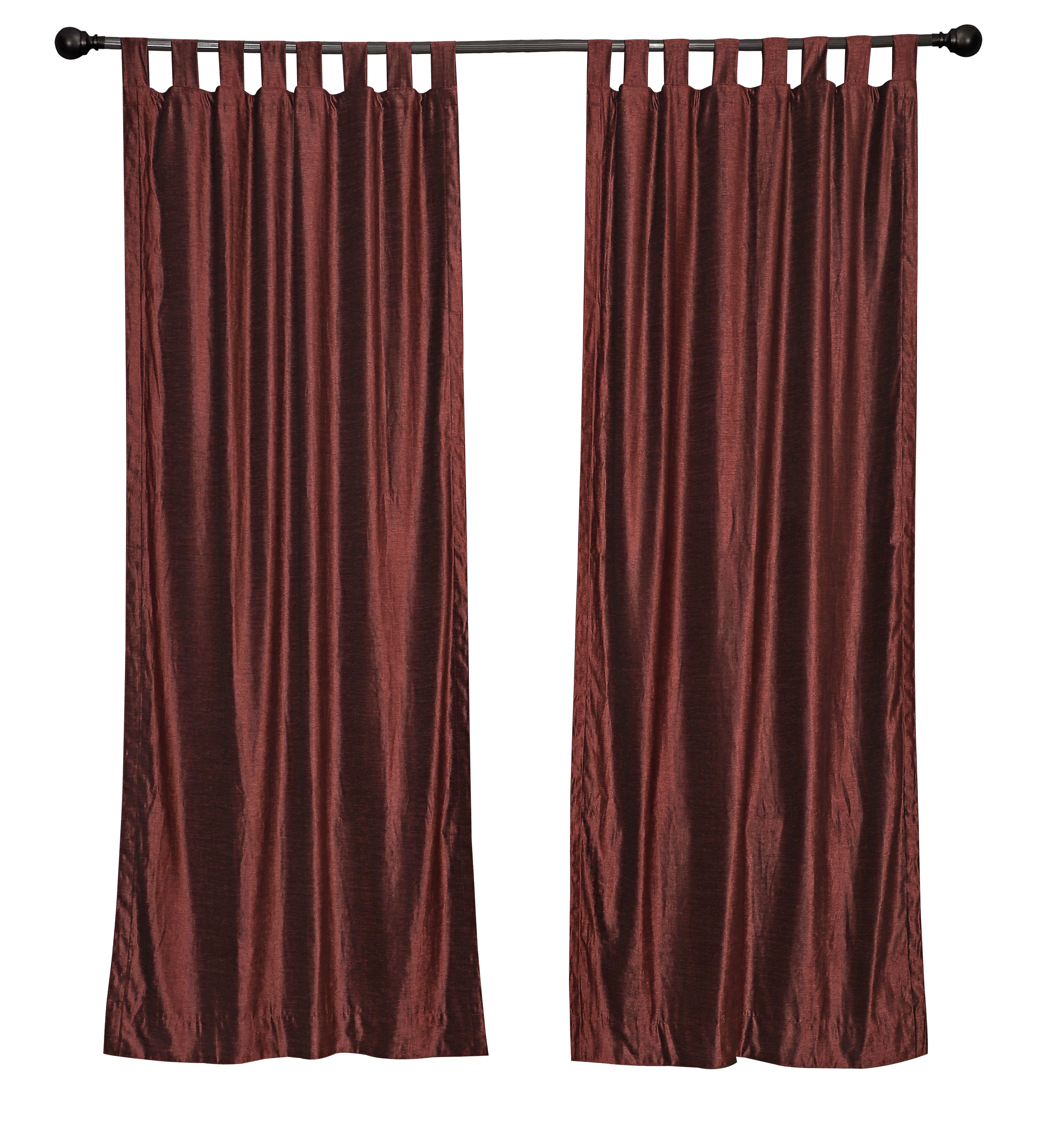 Thermal   Curtain   Velvet   Wine   Top