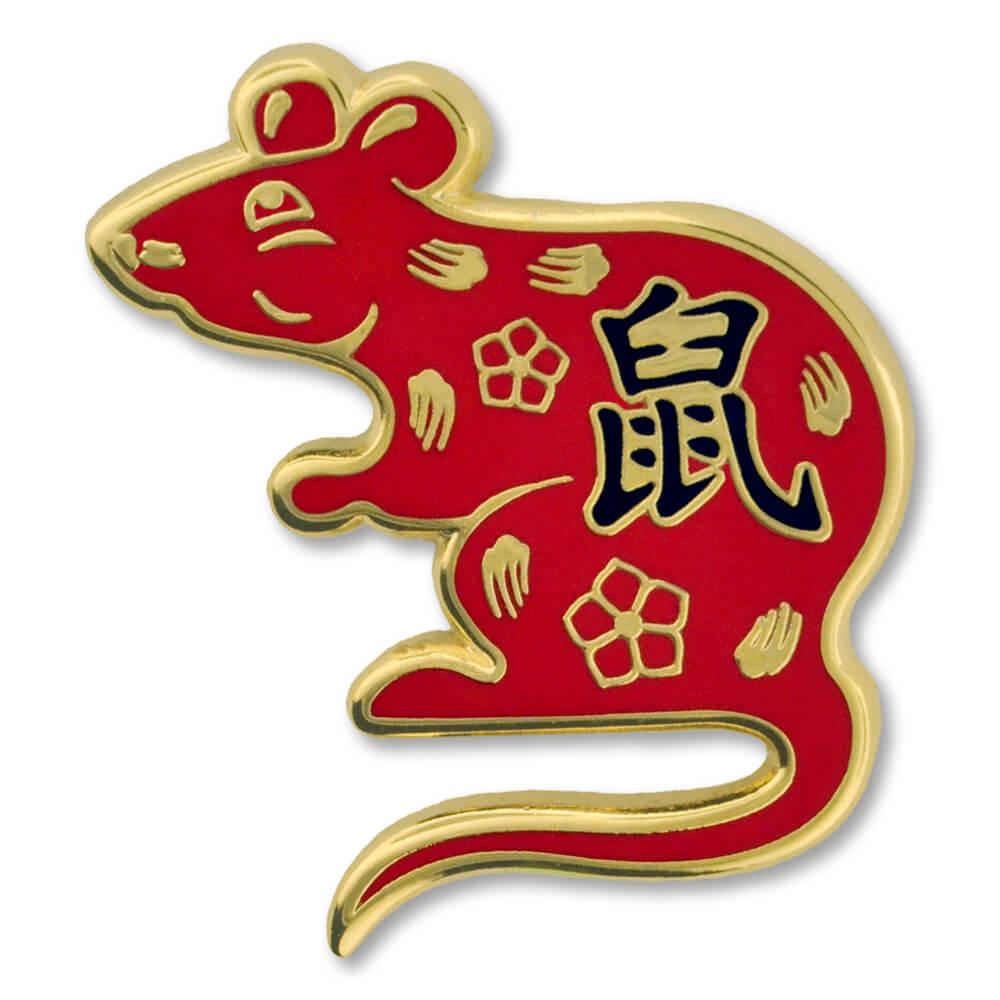 PinMart Chinese Zodiac Year of The Ox New Year Enamel Lapel Pin