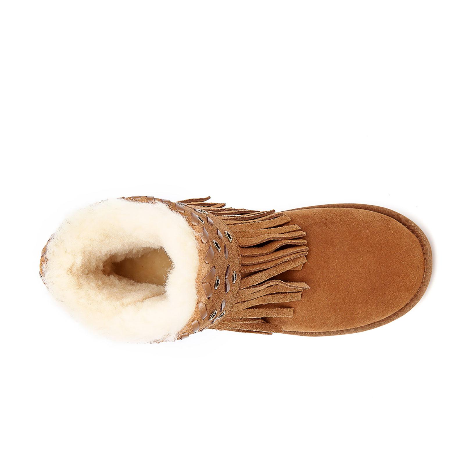 UGG-Boots-Trinity-Ladies-Ankle-Sheepskin-Australian-Double-