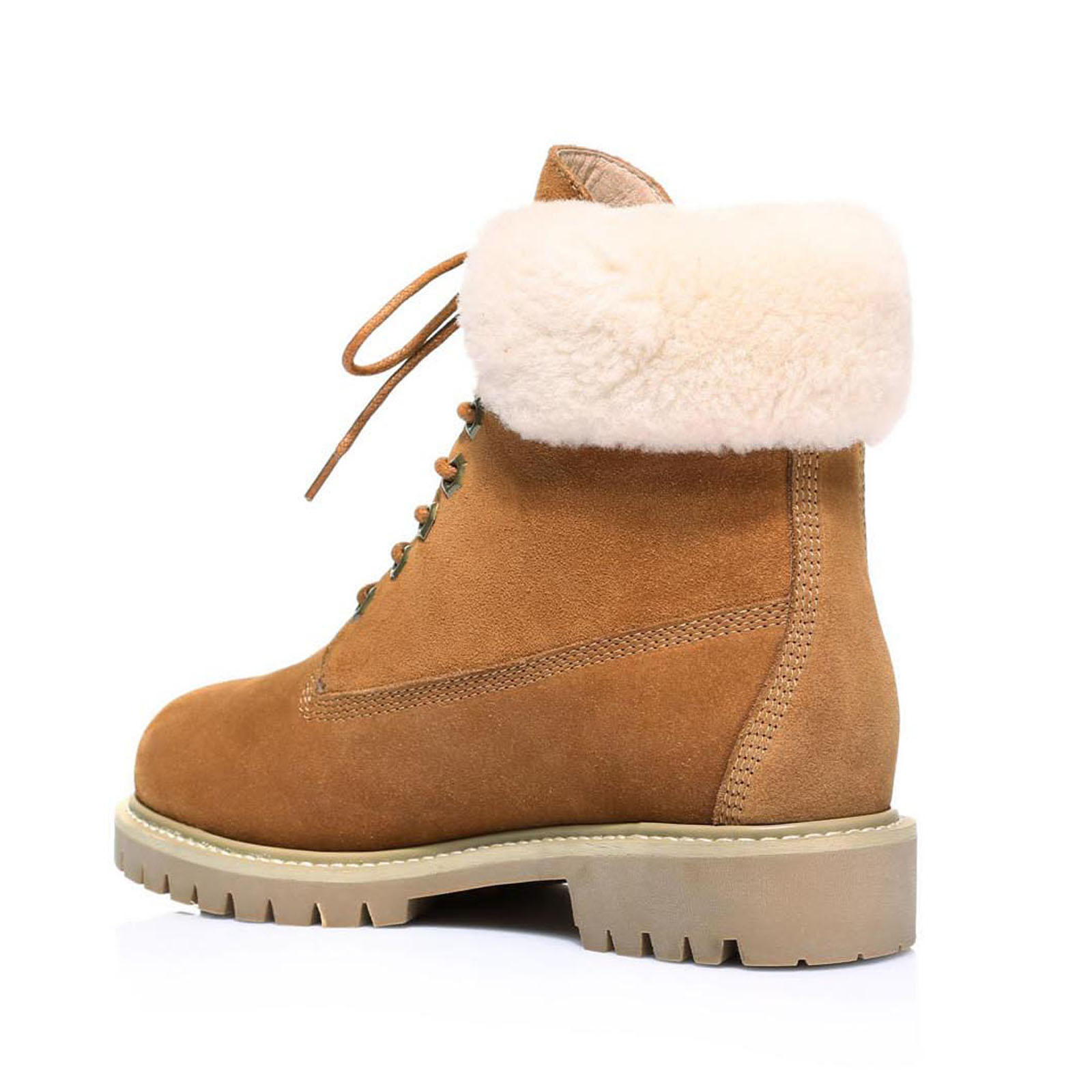 56d498d03ce top quality ugg lace up boots with fur abc47 617e6