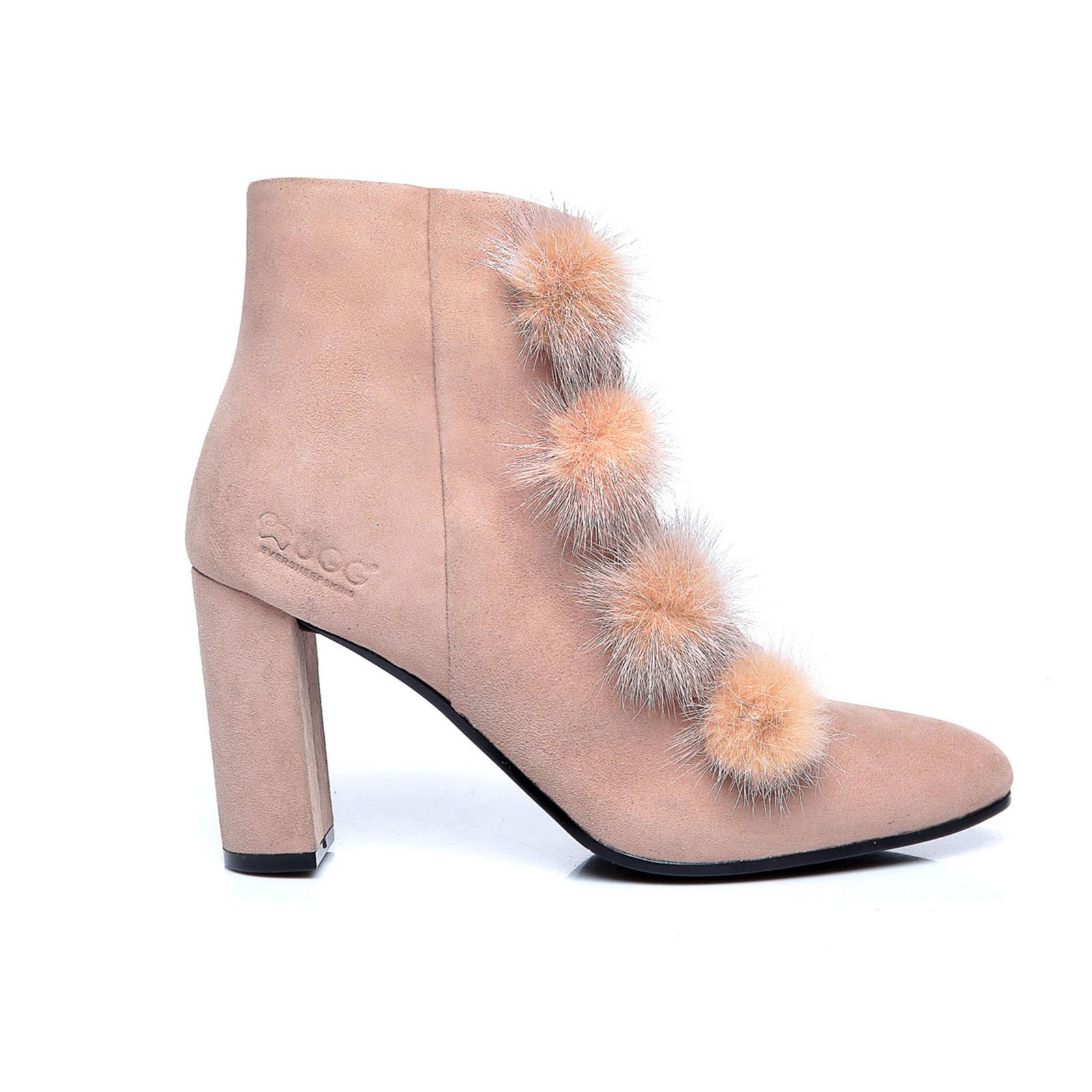 UGG-Boots-Michelle-Ladies-High-Heel-Kid-Suede-