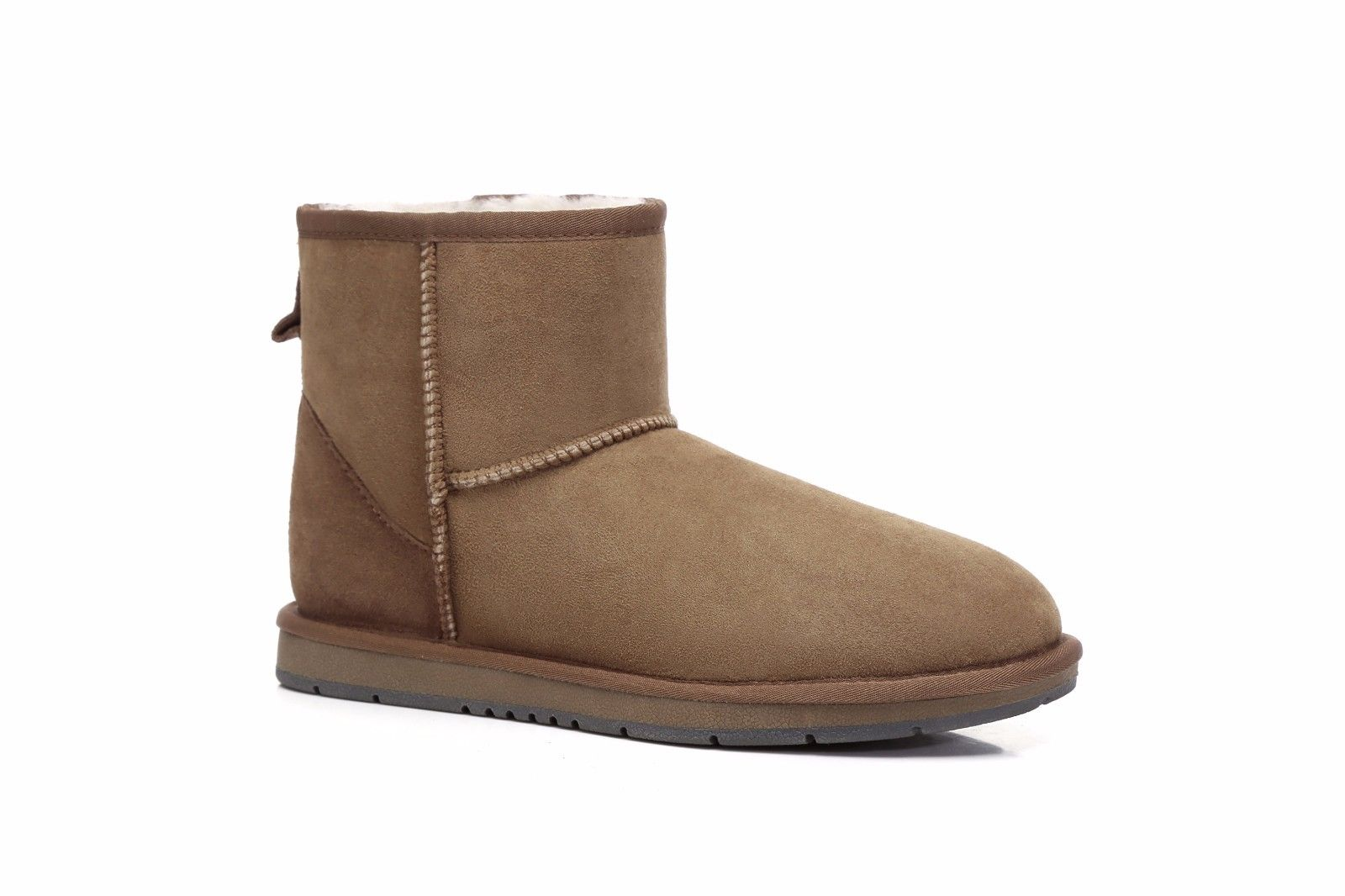 Ugg-Mini-Classic-Sheepskin-Ankle-Boots-Mens-Ladies-Black-Brown-Sizes-35-44-EU