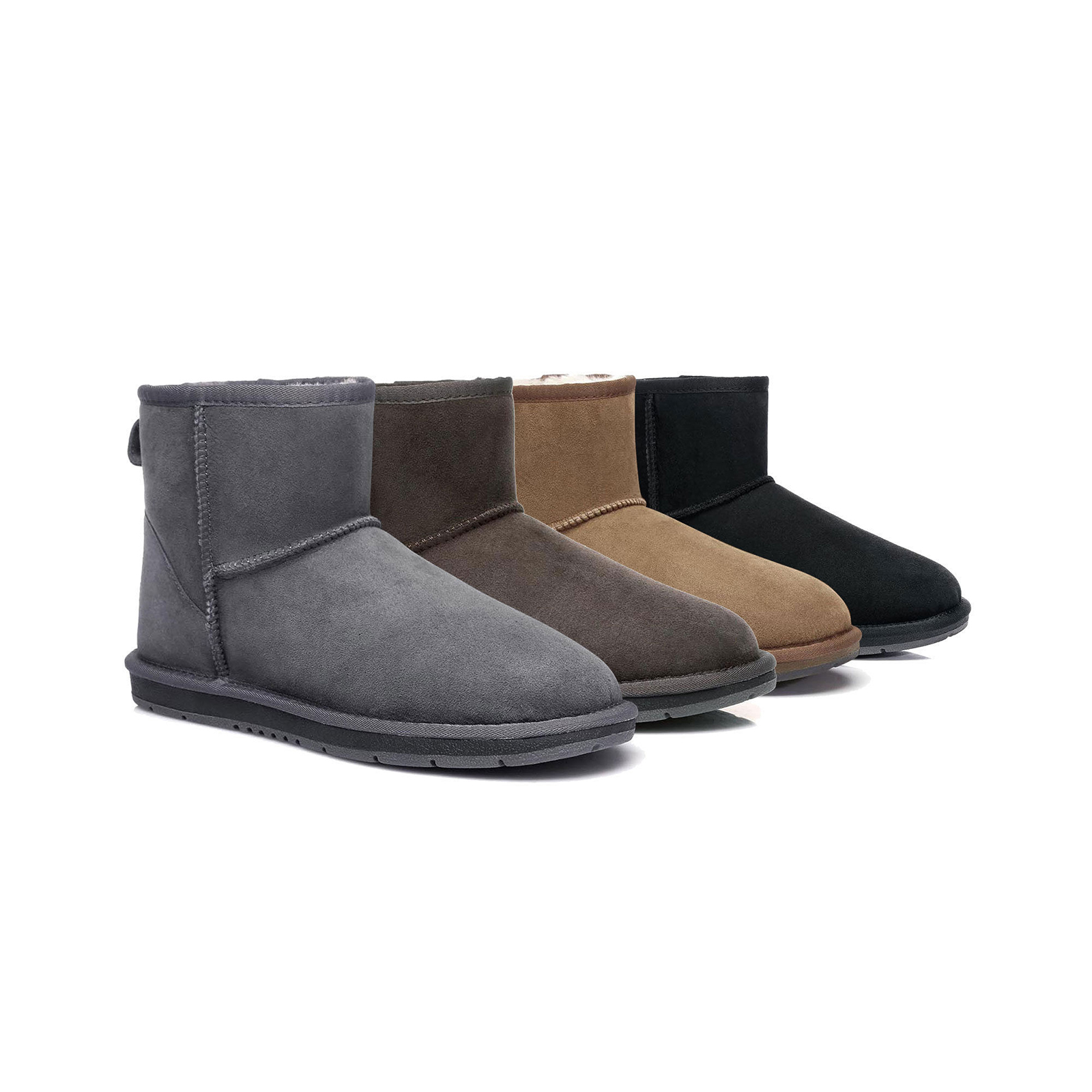 Ugg-Mini-Classic-Sheepskin-Ankle-Boots-Mens-Ladies-