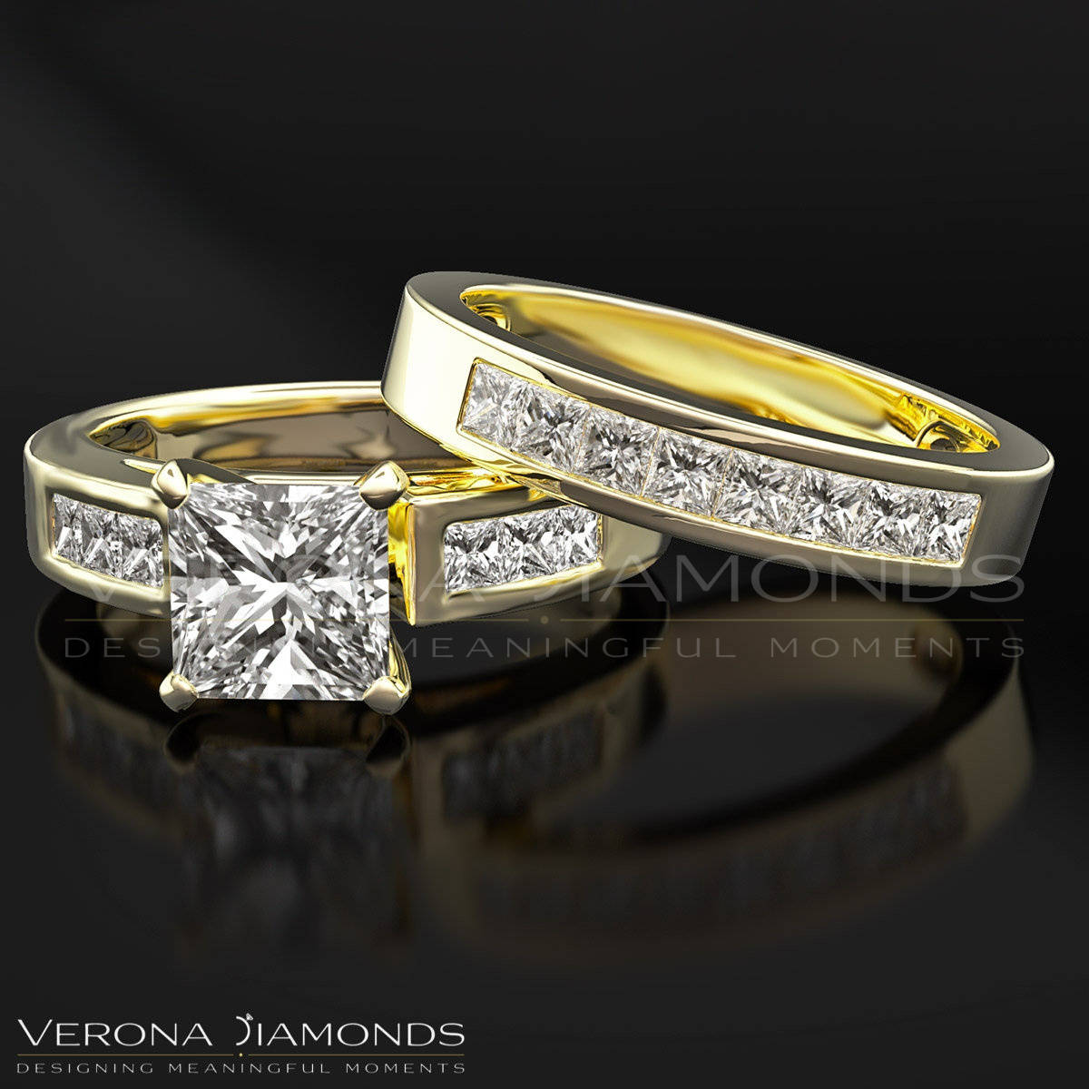 women cheap ring simulated set vecalon filled rings cut store gold wedding engagement in product princess diamond for full band cz