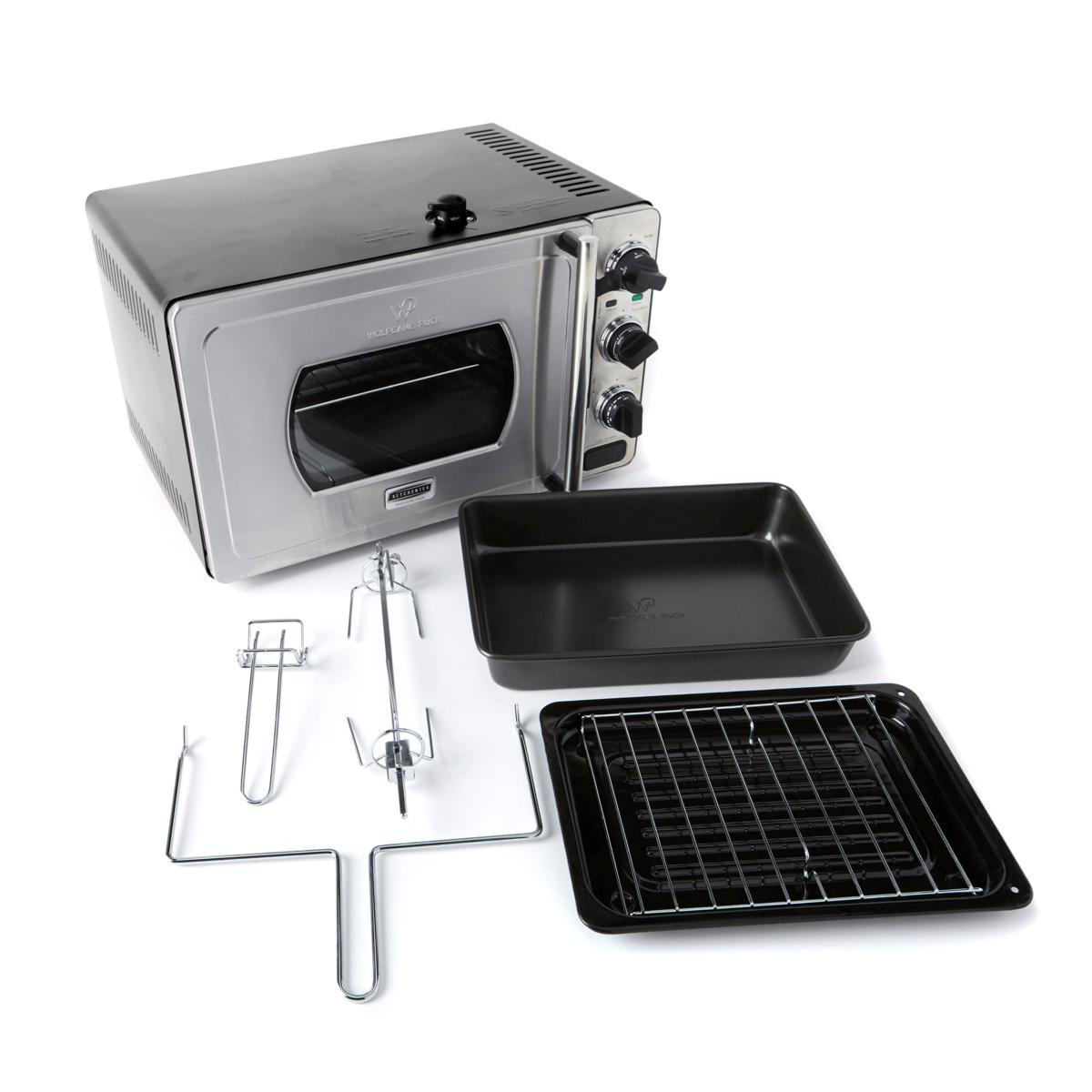 wolfgang puck pressure oven wolfgang puck large 29 liter rotisserie pressure oven 31353