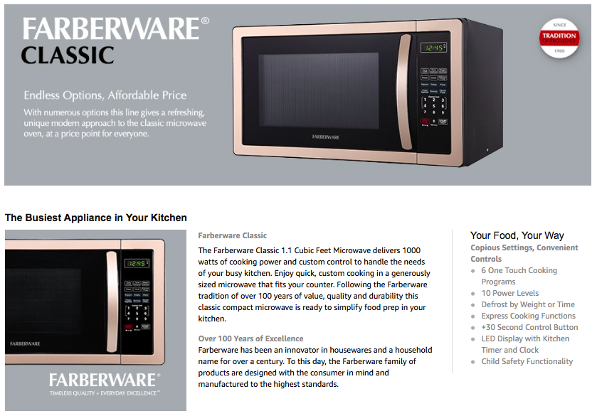 microwave oven research papers Microwaves, radio waves, and other types of radiofrequency microwave ovens work by using very high levels of a certain frequency and research in this area.