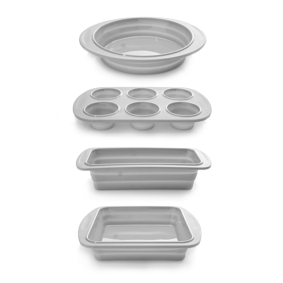 Cook-039-s-Companion-4-Piece-Collapsible-Silicone-Bakeware-Set thumbnail 2