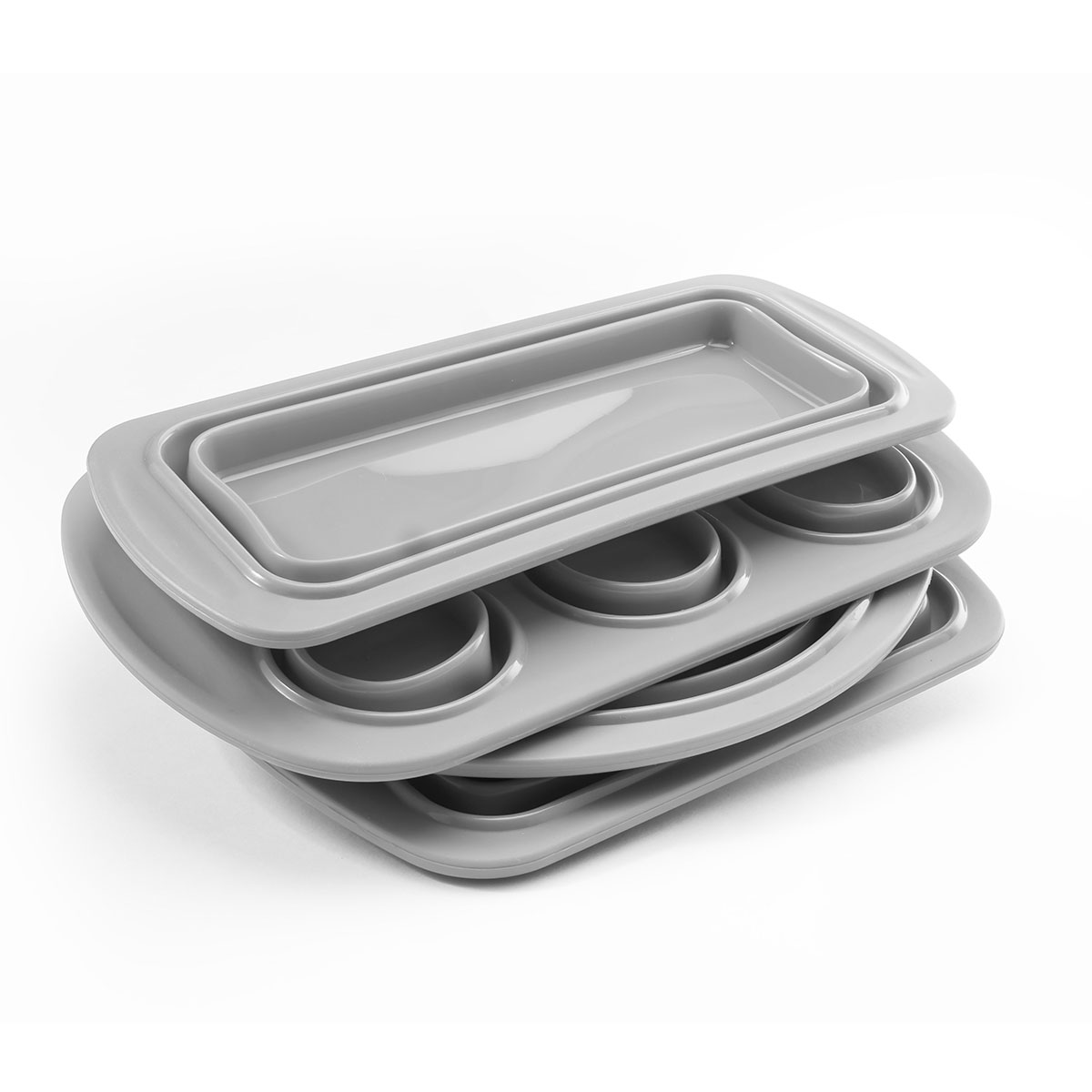 Cook-039-s-Companion-4-Piece-Collapsible-Silicone-Bakeware-Set thumbnail 4