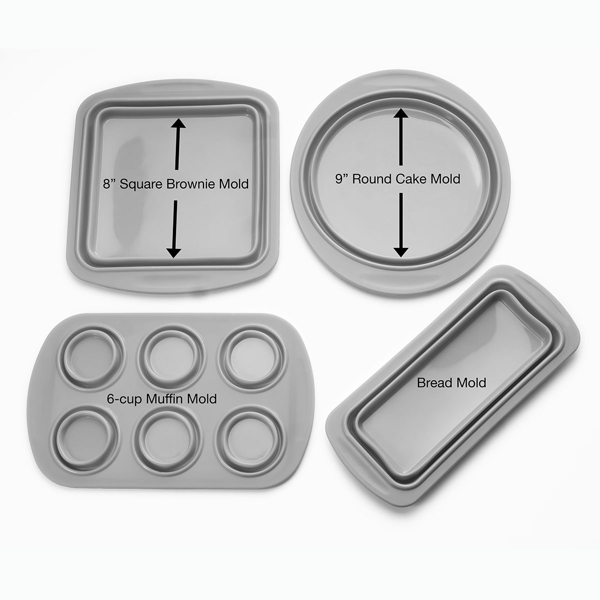 Cook-039-s-Companion-4-Piece-Collapsible-Silicone-Bakeware-Set thumbnail 3